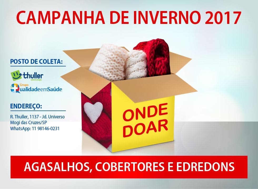 Flyer Digital via WhatsApp - Campanha de Inverno 2017 - Clínica Odontológica